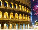REVELION 2020 - ROMA, Italia. Transport cu avionul.